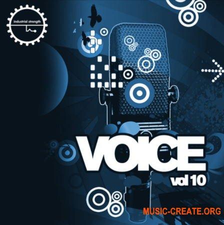 Industrial Strength Voice Vol. 10 (WAV) - вокальные сэмплы