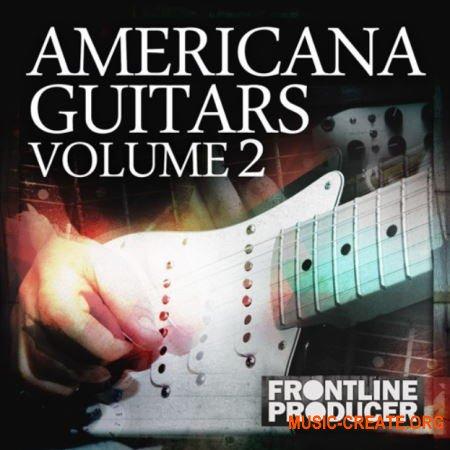 Frontline Producer Americana Guitar Licks And Riffs 2 (WAV REX) - сэмплы гитары