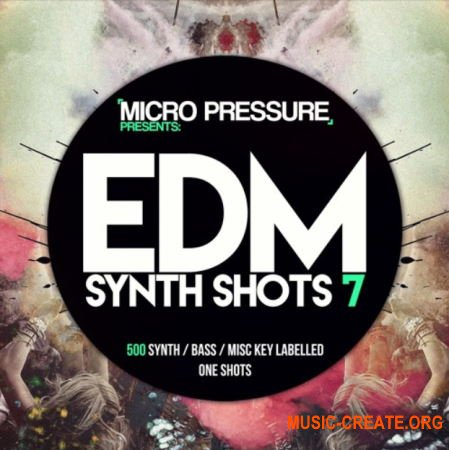 HY2ROGEN EDM Synth Shots 7 (MULTiFORMAT) - сэмплы EDM, Electro House