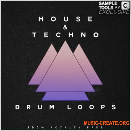 Sample Tools by Cr2 House and Techno Drum Loops (WAV) - сэмплы House, Techno, Tech House