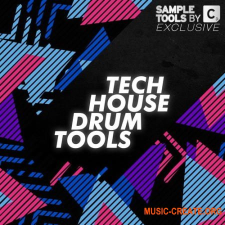 Sample Tools by Cr2 Tech House Drum Tools (WAV) - сэмплы Tech House