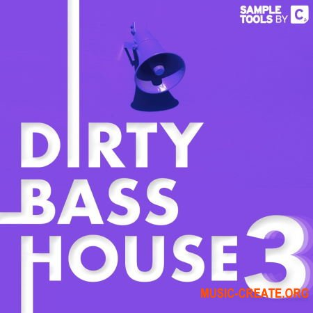Sample Tools by Cr2 Dirty Bass House 3 (WAV) - сэмплы Bass House