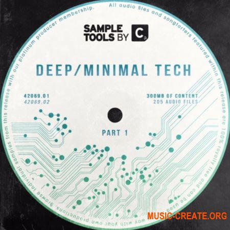 Sample Tools By Cr2 Deep Minimal Tech (WAV MiDi) - сэмплы Minimal, Deep Tech