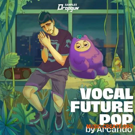 Dropgun Samples Vocal Future Pop by Arcando (WAV SERUM SYLENTH1) - вокальные сэмплы