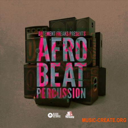 Black Octopus Sound Afrobeat Percussion by Basement Freaks (WAV) - сэмплы перкуссии