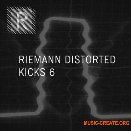 Riemann Kollektion Riemann Distorted Kicks 6 (WAV) - сэмплы Dark Techno, Hard Techno