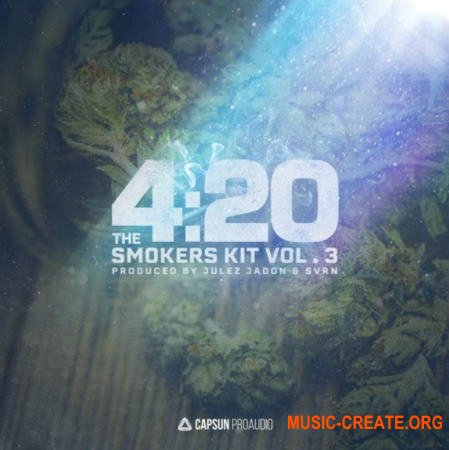 Capsun ProAudio 420 The Smokers Kit Vol. 3 (WAV) - сэмплы Hip Hop