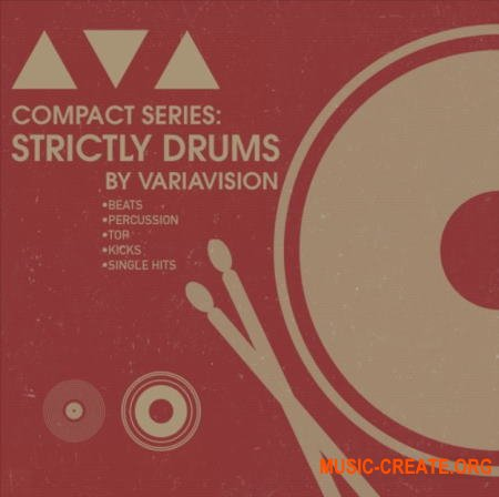 Bingoshakerz Compact Series Strictly Drums by Variavision (MULTiFORMAT) - сэмплы ударных