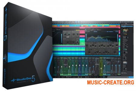 PreSonus Studio One 5 Professional v5.0.1 (Team R2R) - программа для создания музыки
