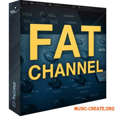 PreSonus Fat Channel XT v2.0.0 for PreSonus Hub (Team R2R)