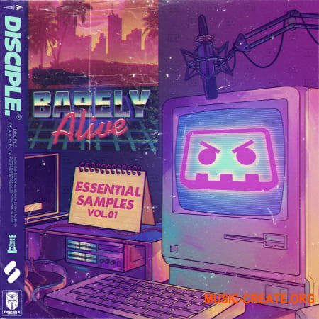 Disciple Samples Barely Alive Essential Samples Vol. 1 (WAV) - сэмплы Dubstep