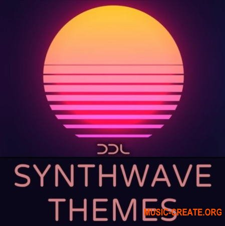 Deep Data Loops Synthwave Themes (WAV MiDi) - сэмплы Synthwave
