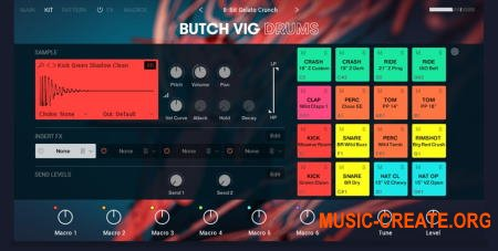 Native Instruments Butch Vig Drums v1.0.0 (KONTAKT DVDR) - библиотека ударных