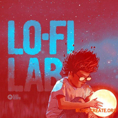 Black Octopus Sound Lo-fi Lab (WAV) - сэмплы Lo-Fi Hip Hop Chill Hop, Downtempo, Trap