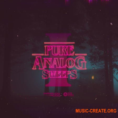 Black Octopus Sound Pure analog Sweeps I (WAV) - сэмплы Synthwave, Retrowave, Synthpop
