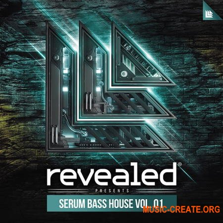 Revealed Recordings Revealed Serum Bass House Vol 1 (WAV FXP) - сэмплы Bass House