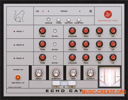 Wavesfactory Echo Cat v1.0.1 (Team R2R) - эффект эхо