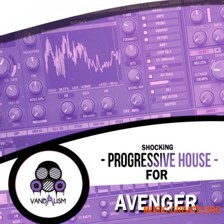 Vandalism Shocking Progressive House For Avenger (AVENGER, MIDI)