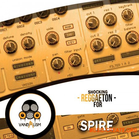 Vandalism Shocking Reggaeton For Spire (SPIRE, MIDI)