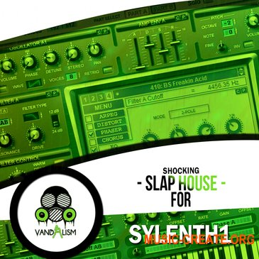 Vandalism Shocking Slap House For SYLENTH1 (Sylenth1 presets)