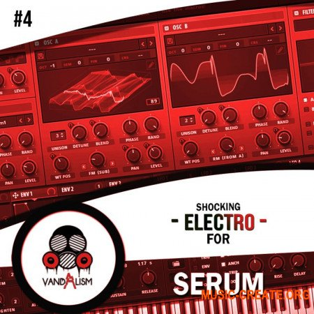 Vandalism Shocking Electro For Serum 4 (Serum presets)