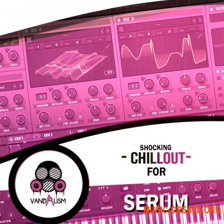Vandalism Shocking Chillout For Serum (Serum presets, WAV, MIDI) - сэмплы Chillout
