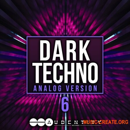 Audentity Records Dark Techno 6 Analog
