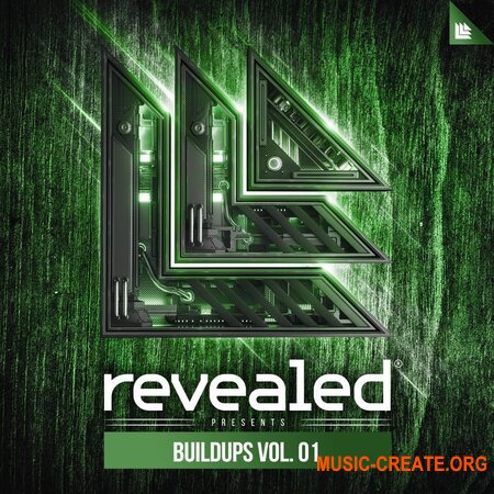 Revealed Recordings Revealed Buildups Vol.1 (WAV) - сэмплы эффектов разгона