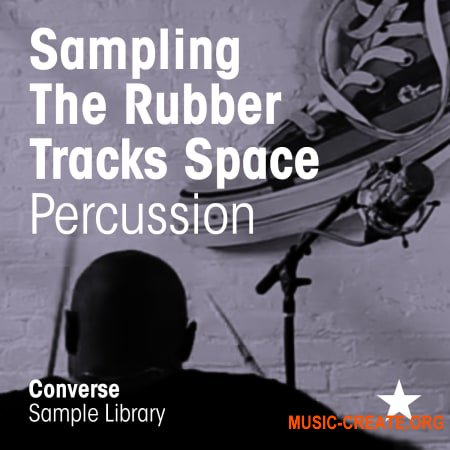 Converse Sample Library Sampling the Rubber Tracks Space Percussion (WAV) - сэмплы перкуссии