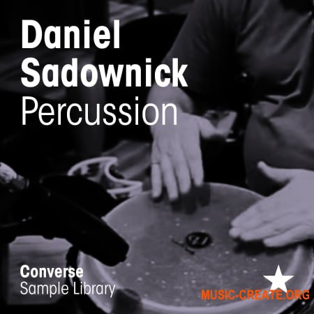 Converse Sample Library Daniel Sadownick Percussion