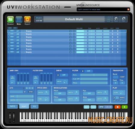 UVI Workstation  от Ultimate Sound Bank - звуковой модуль