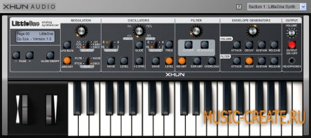 Xhun Audio - Big Steps Soundbank for LittleOne