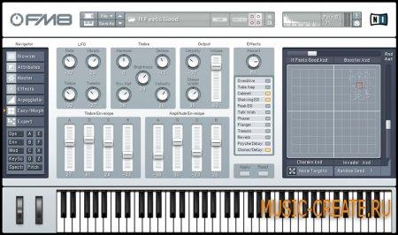 Native Instruments FM8 STANDALONE VST VSTi RTAS v1.2.0 x86/x64 (TEAM ASSiGN) - FM синтезатор