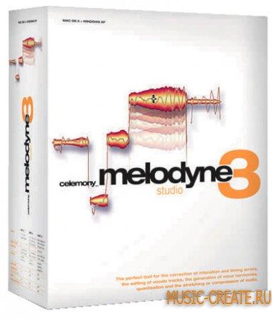 Melodyne Studio Edition 3.2.2.2 от Celemony - корректор тональности