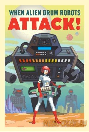 When Alien Drum Robots Attack от Goldbaby - сэмплы Hip Hop, Drum - Bass, Dub Step, Techno, House, Dub, Break Beat