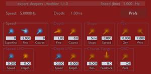 Warbler от Expert Sleepers - модулятор