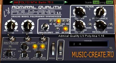 L'il Poly-Ana от Admiral Quality - синтезатор