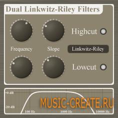 Dual Linkwitz-Riley Filters от Christian Budde - фильтр