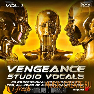 Vengeance Studio Vocals vol. 1 от Vengeance - пакет сэмплов вокала