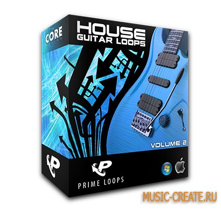 House Guitar Loops vol.2 от Prime Loops - лупы гитары