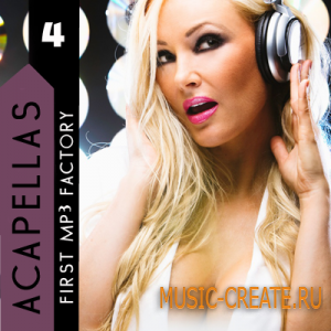 First MP3 Factory - Acapellas vol 4