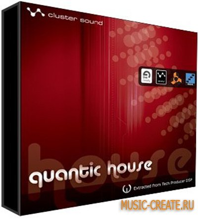 Quantic House от Loopmasters - Cluster Sound - сэмплы Tech-House