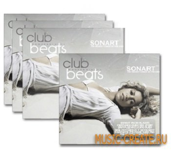 Club Beats Vol 1 от Sonart London Audio - сэмплы клубных битов