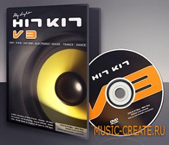 Hit Kit V3 от Popmusic - сэмплы pop, R&B, hip-hop, electronic, dance club