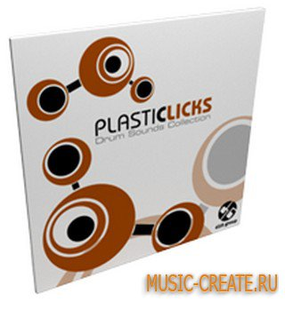 Plasticlicks Drum Sounds Collection от D16 Group - сэмплы ударных