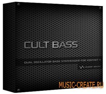 Cult Bass от Cluster Sound - синтезаторные басы для KONTAKT