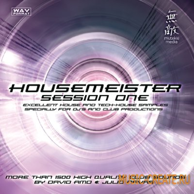Housemeister Session Vol.1 от Mutekki Media - сэмплы house