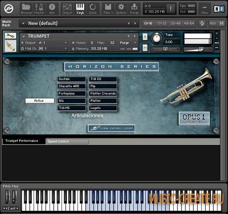 Opus 1 Trumpet от Vienna Symphonic Library - труба VST (KONTAKT)