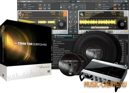 Traktor Scratch Pro 1.2.7 Mobile Editon USB �� Native Instruments - ���������� dj
