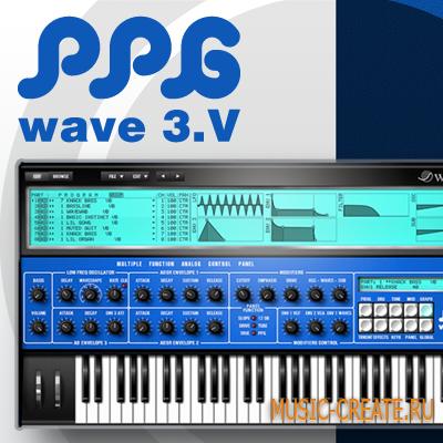 Waldorf PPG Wave 3.V v1.2.3 WIN MAC (TEAM R2R) - волновой синтезатор